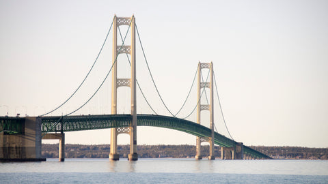 original image of mackinac bridge I took earlier this year.