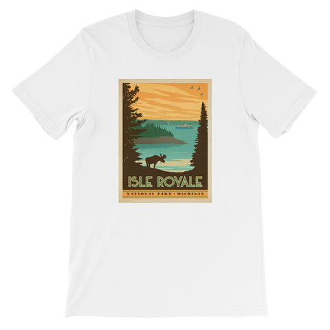 Isle Royale Michigan - Short-Sleeve Unisex T-Shirt