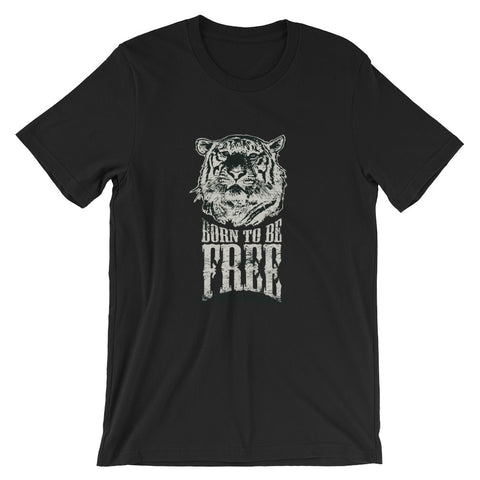 Born to Be Free - Short-Sleeve Unisex T-Shirt