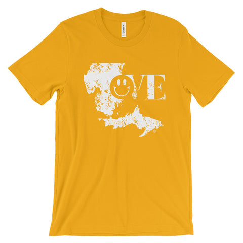 Love Michigan - Unisex short sleeve t-shirt