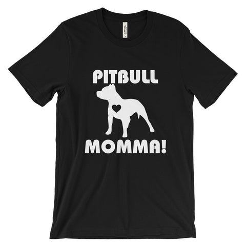 Pitbull Momma - Unisex short sleeve t-shirt