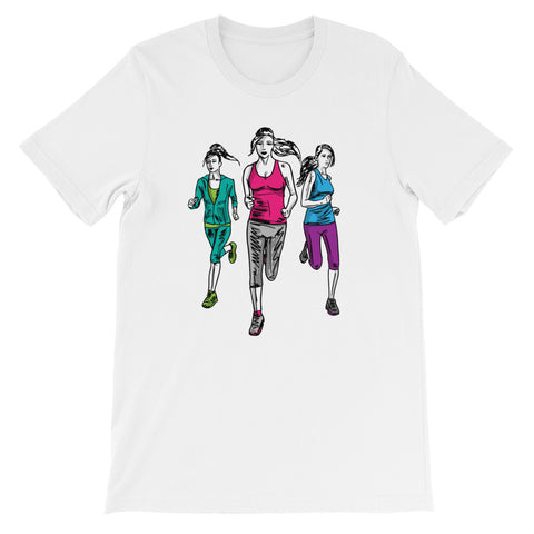 Runners Unite! - Short-Sleeve Unisex T-Shirt