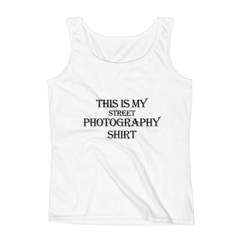 This Is My Street Photography Ladies' Tank