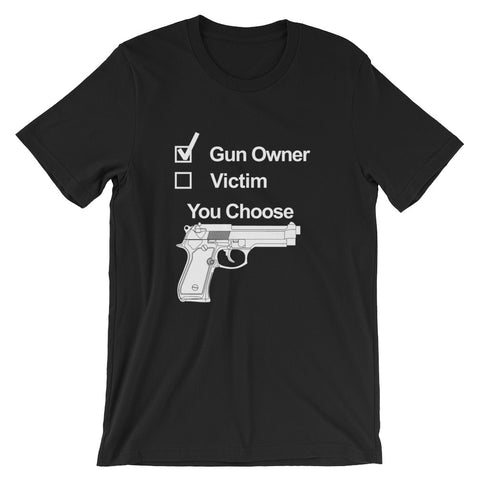 Pro Gun Choice - Short-Sleeve Unisex T-Shirt