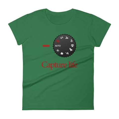 Capture Life - Photography Women's short sleeve t-shirt