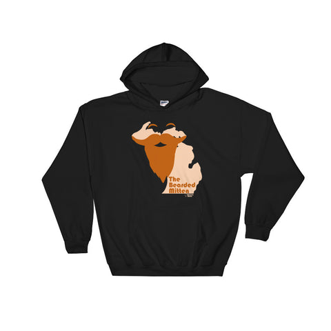 The Bearded U.P. - Hooded Sweatshirt