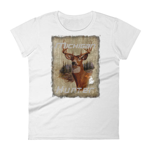 Michigan Hunter - Women's short sleeve t-shirt
