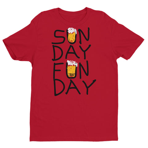 Sunday Funday - Short sleeve men's t-shirt