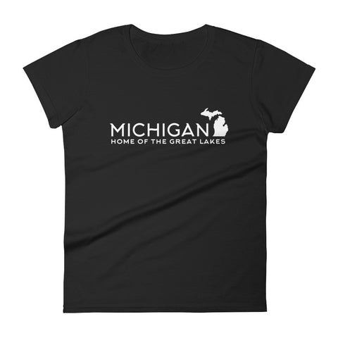Home of the Great Lakes - Women's short sleeve t-shirt