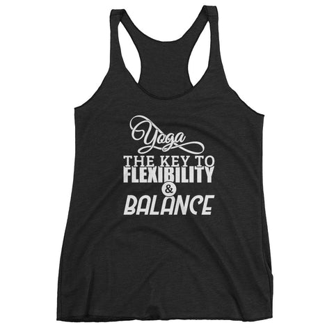 Yoga Flexibility and Balance - Women's tank top