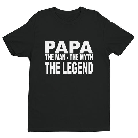 Papa - The Man The Myth... - Short sleeve men's t-shirt