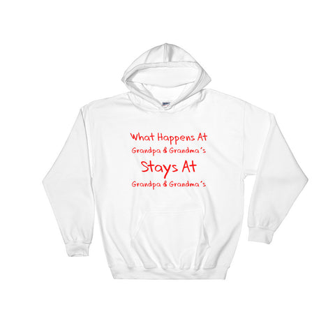 What Happens at Grandparents... - Hooded Sweatshirt
