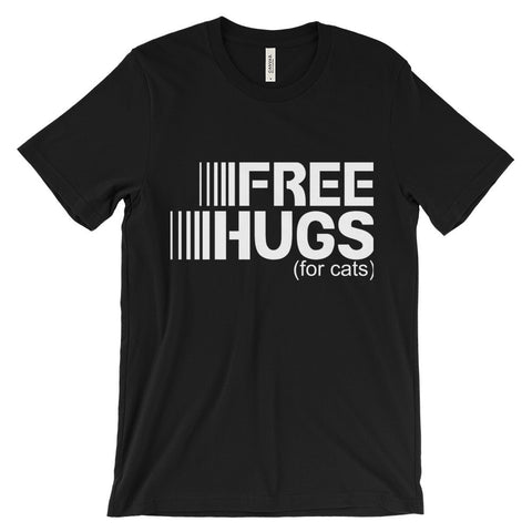 Free Hugs - With Certain Clauses - Unisex short sleeve t-shirt