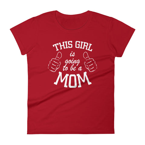 Future Mom - Women's short sleeve t-shirt