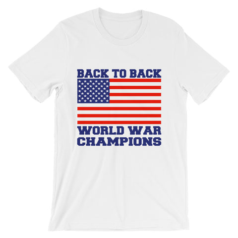 B2B World War Champs - Short-Sleeve Unisex T-Shirt