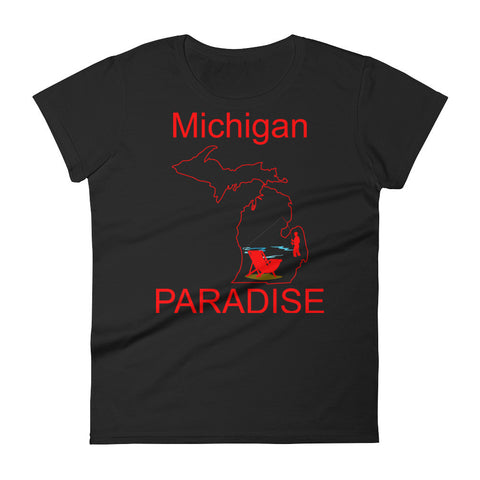 Michigan Paradise - Women's short sleeve t-shirt