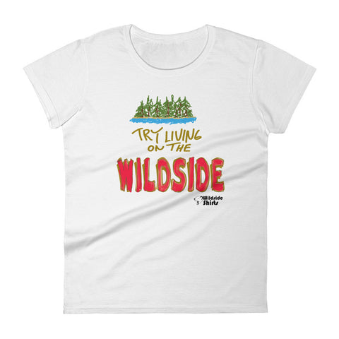 Livin' On the Wildside - Women's short sleeve t-shirt