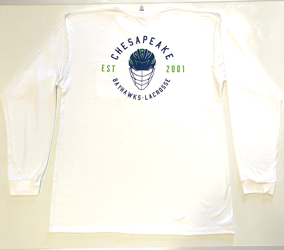 Bayhawks Rep the Helmet Long Sleeve
