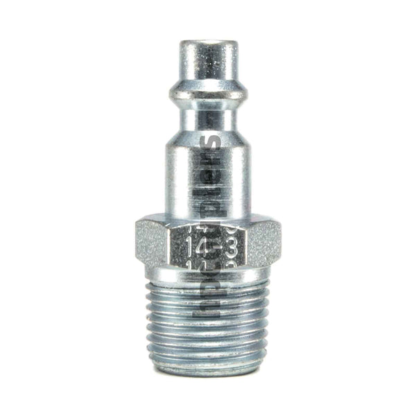 "Foster 14-3, 3 Series, Industrial Plug, 3/8"" Male NPT, Steel"