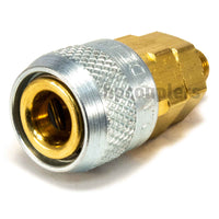 "Foster 210-2903, Aro 210 Series, Coupler, Automatic, 1/8"" Male NPT, Brass, Steel"