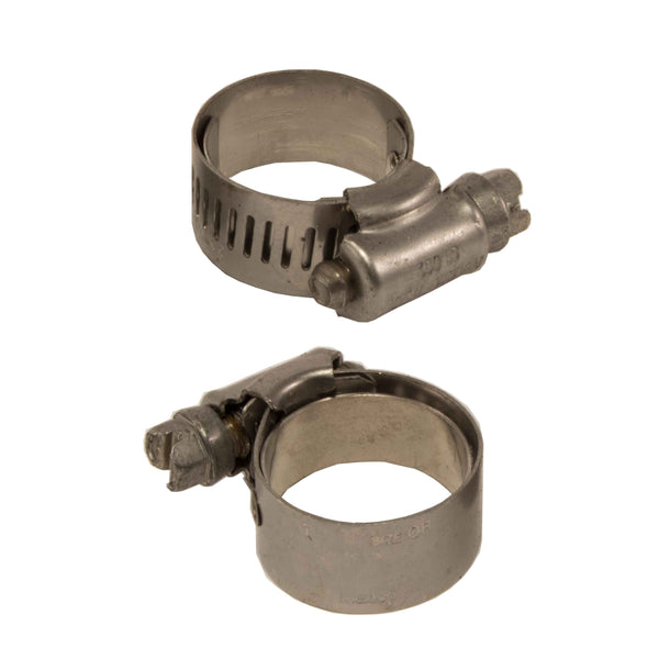 "Ideal Tridon 6510E, Worm Gear, Lined Clamps, 11/16"" - 1-1/16"", 17mm - 27mm (2pc)"