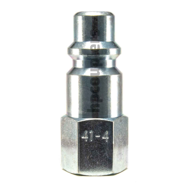 "Foster 41-4, 4 Series, Industrial Plug, 1/4"" Female NPT, Steel"