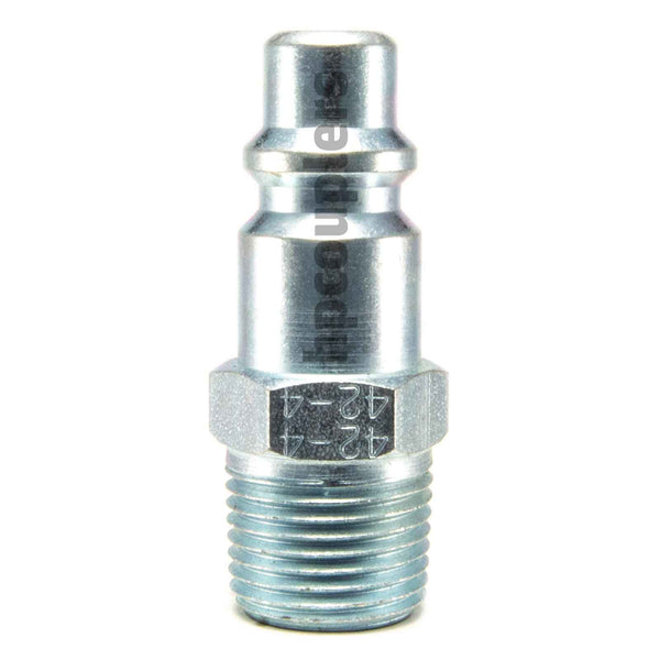 "Foster 42-4, 4 Series, Industrial Plug, 3/8"" Male NPT, Steel"