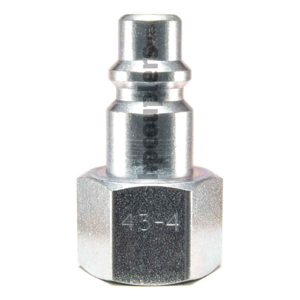 "Foster 43-3, 4 Series, Industrial Plug, 3/8"" Female NPT, Steel"