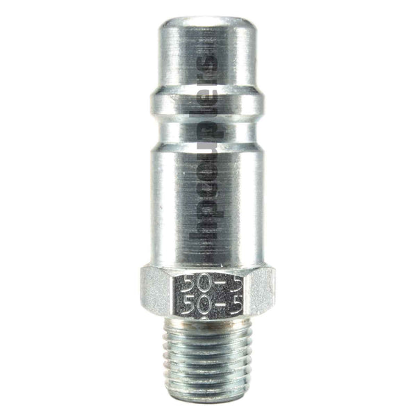 "Foster 50-5, 5 Series, Industrial Plug, 1/4"" Male NPT, Steel"