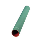 "Flexfab 5500-338, 3.38"" X 3 ft, 3-Ply Green Silicone Coolant Hose, 86mm"