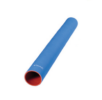 "Flexfab 5515-225, 2.25"" X 3 ft, 3-Ply Blue Silicone Coolant Hose, 57mm"