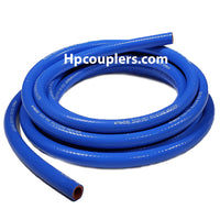 "Flexfab 5526-050, 1/2"" x 10 ft Blue Silicone Heater Hose, .50"""