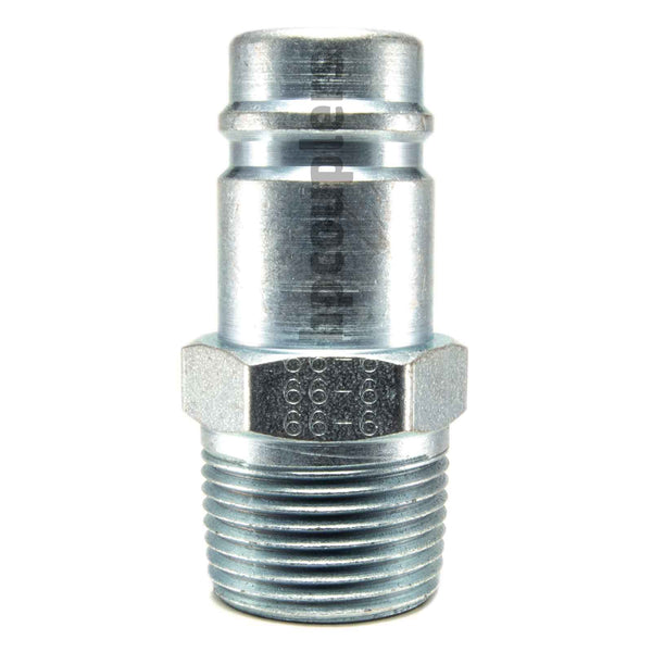 "Foster 66-6, 6 Series, Industrial Plug, 3/4"" Male NPT, Steel"