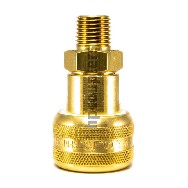 "Foster FM3103, 3 Series, Industrial Coupler, Automatic, 1/4"" Male NPT, Brass"