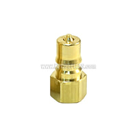 "Foster K2B, FHK Series, ISO B,  1/4"" Two Way Shut-off, Plug, Brass"