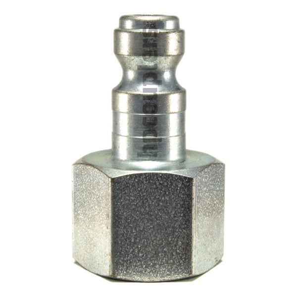 "Foster TF15, TF Series, True-Flate, Automotive, Plug, 3/8"" Female NPT, Steel"