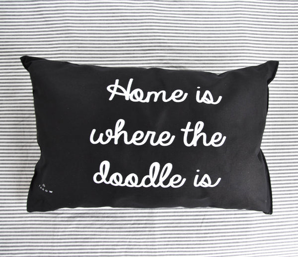 Home is where the doodle is (Black)