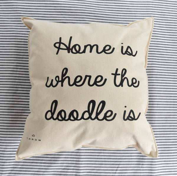 Home is where the doodle is