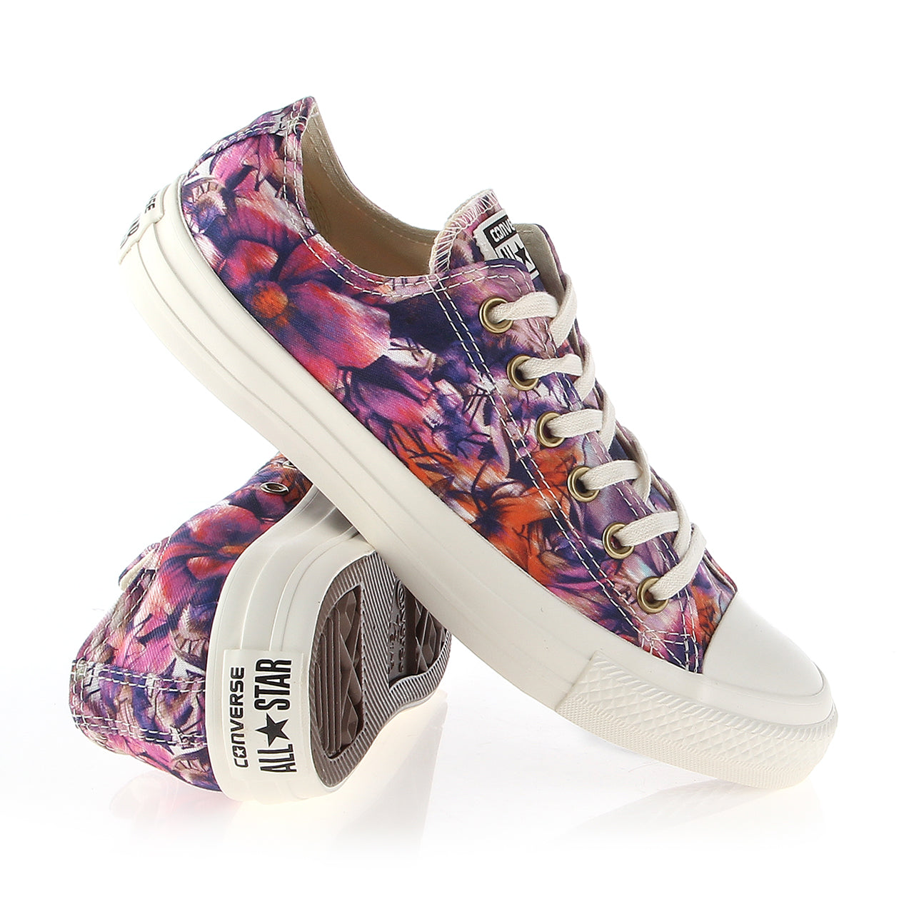 AUCTION ITEM 1215-17 Converse Chuck Taylor® All Star® Floral Print Ox Size 8 (fits like 9)
