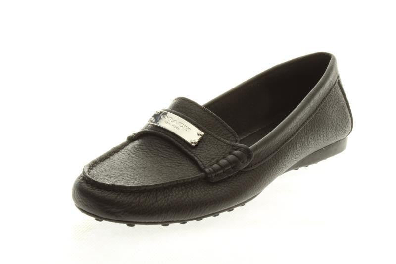 Coach Fredrica Pebble Grain Leather Loafer Flats Size 10 NIB ONLINE ONLY