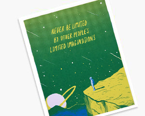 Never Be Limited Print