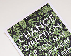 Change Direction Print