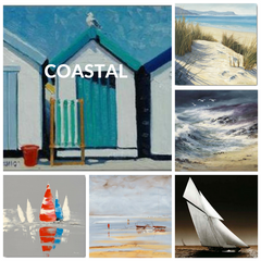 Coastal Art Print Collection