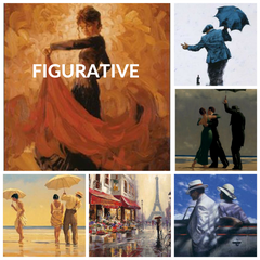 Figurative Art Print Collection