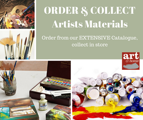 Artist Materials, Order and collect