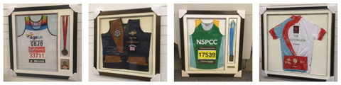 Cycling Shirt Framing