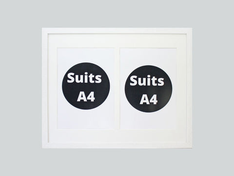 Double Certificate Frames - Five colours available