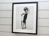 Framed Audrey Hepburn, Breakfast at Tiffanys art print
