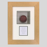 Framed Cricket Ball