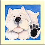 Westie -  Mounted Art Print